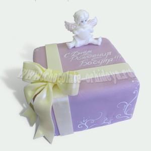 Ангелочек на подарке