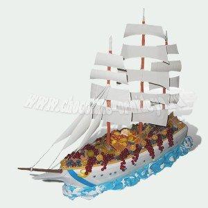 Корабль с ягодами