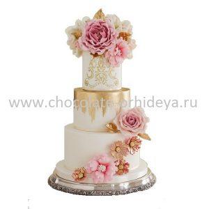 Tarta de boda de alta costura