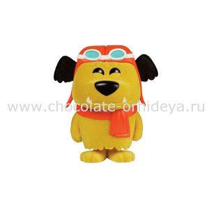 hanna-barbera-pop-animation-vinyl-figure-wacky-races-flocked-muttley-limited-9-cm