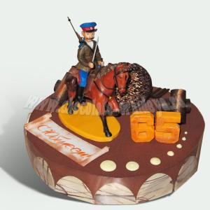 Казак на коне