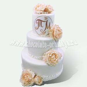 свадебный с буквами