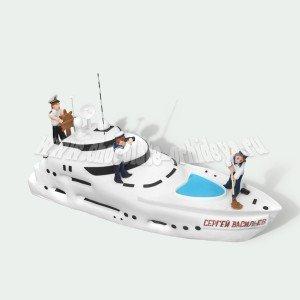 Капитан и яхта