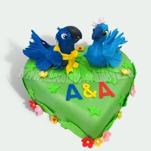 Влюблённые попугаи
