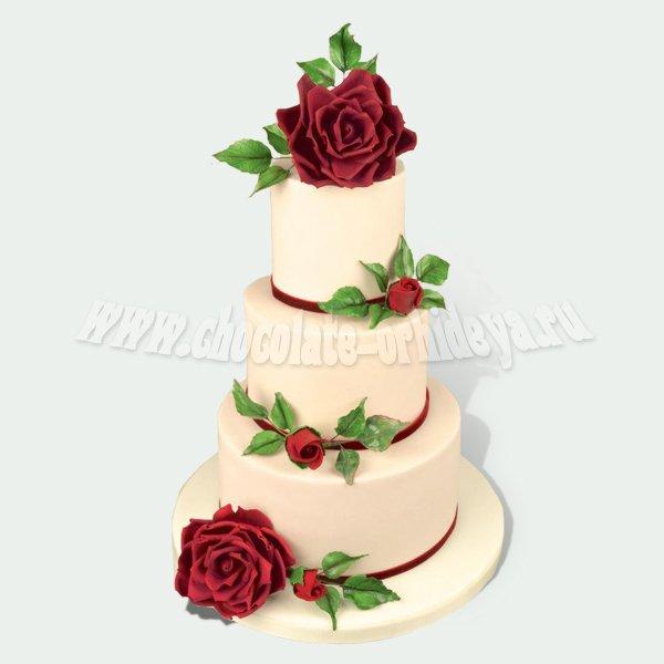Москве эксклюзивные свадебные торты